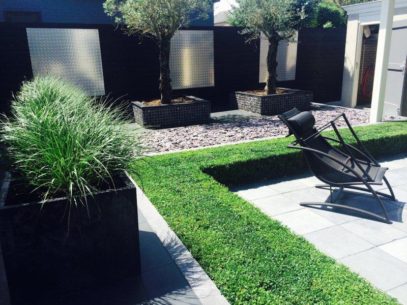 Moderne tuin oude tonge tuin ontwerp arthur westerman - Tuin ontwerp foto ...