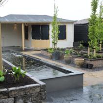 Renovatie van een achtertuin in Oude Tonge